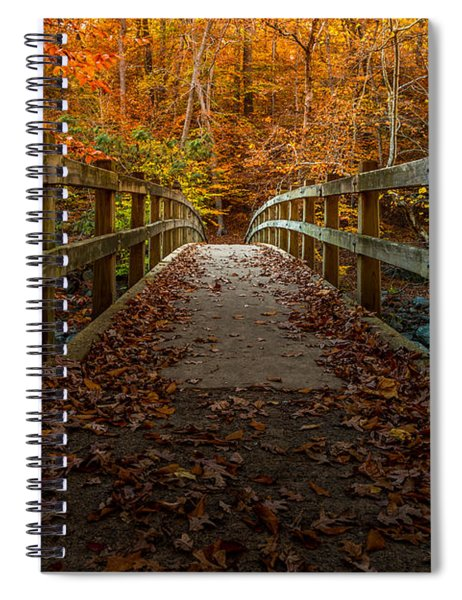 Bridge To Enlightenment 2 Spiral Notebook