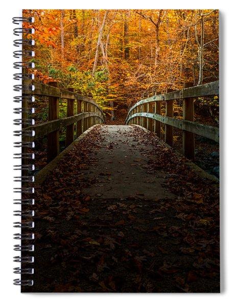 Bridge To Enlightenment Spiral Notebook