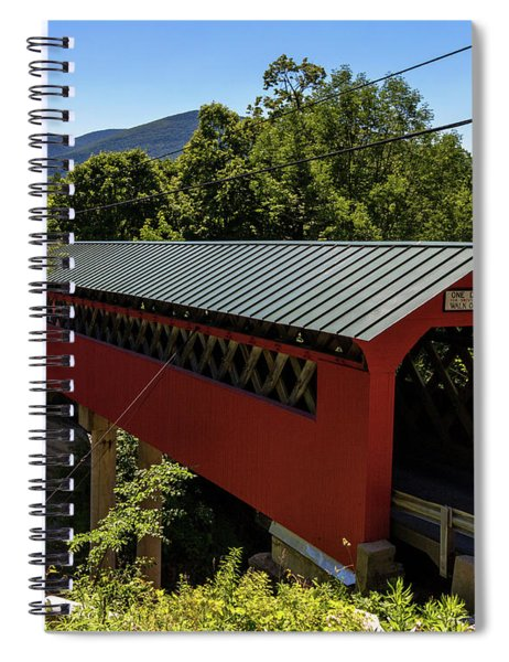 Bridge To The Mountains Spiral Notebook
