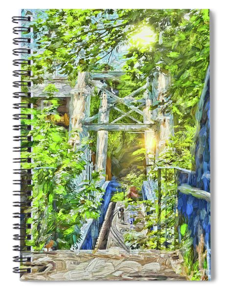 Bridge To Your Dreams Spiral Notebook