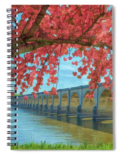 Beautiful Blossoms Spiral Notebook