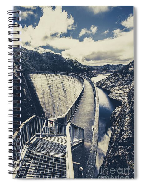 Bridges And Outback Dams Spiral Notebook