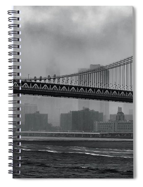 Bridges In The Storm Spiral Notebook