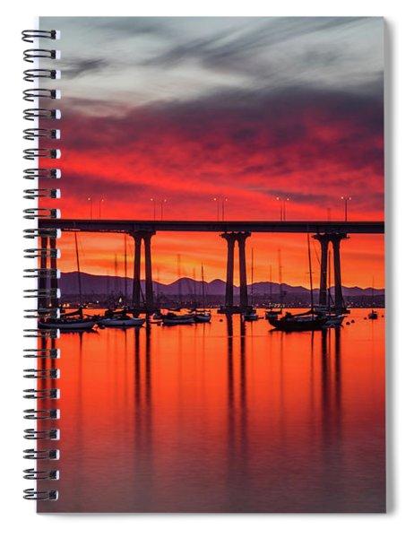 Bridgescape Spiral Notebook