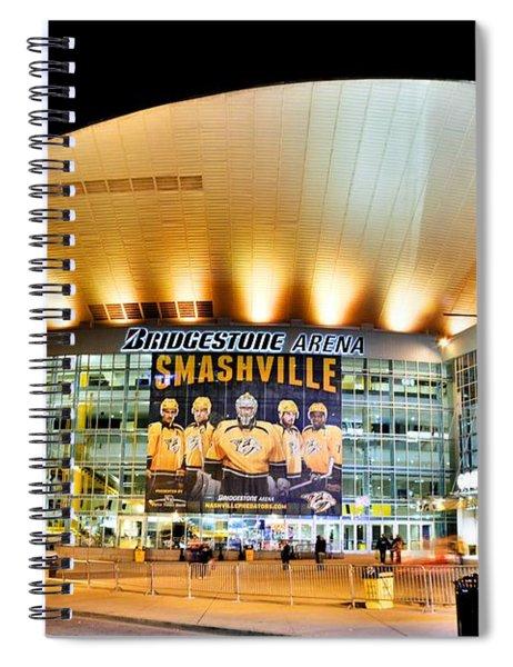 Bridgestone Arena Spiral Notebook