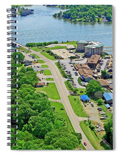 Bridgewater Plaza Aerial Spiral Notebook
