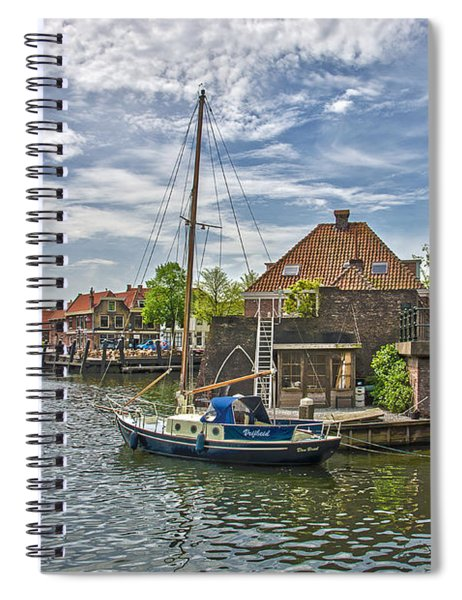 Brielle Harbour Spiral Notebook