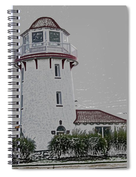 Brigantine Lighthouse Spiral Notebook