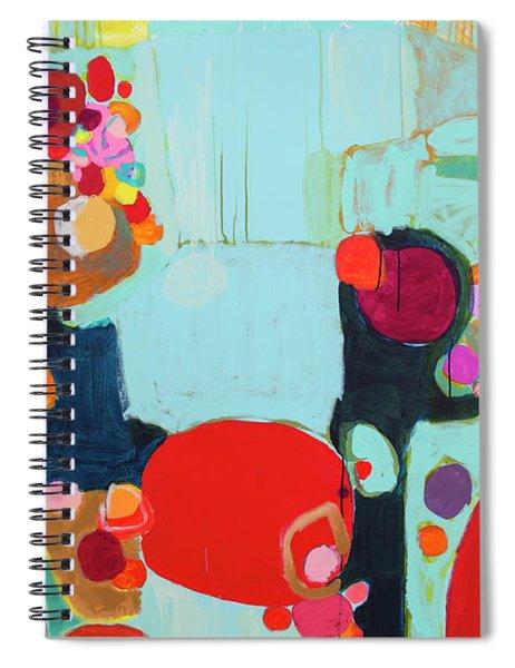 Bright As Quiet Spiral Notebook