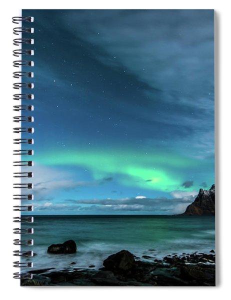 Bright Night Spiral Notebook