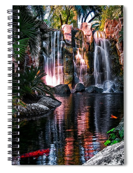 Bright Waterfalls Spiral Notebook