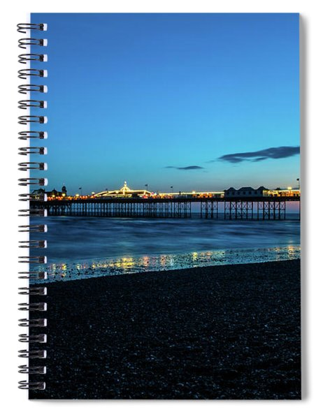 Brighton Pier At Sunset Ix Spiral Notebook