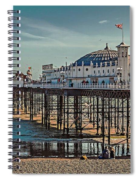 Brighton Pier Spiral Notebook