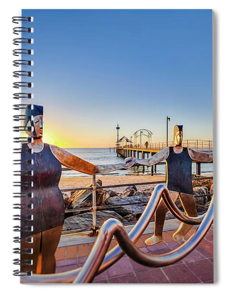 Brighton Sunset IIi Spiral Notebook