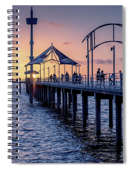 Brighton Sunset Spiral Notebook