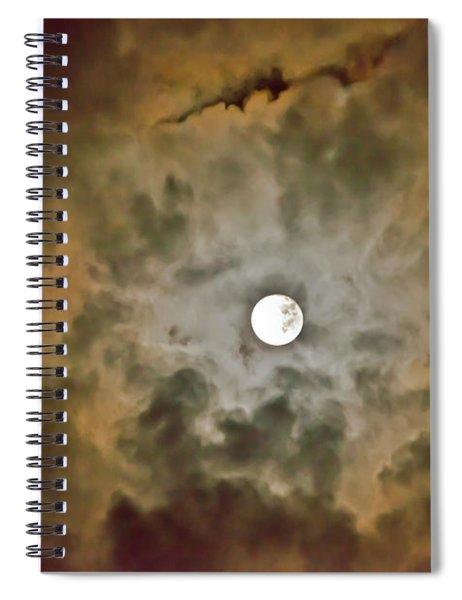 Brilliant Night Sky Spiral Notebook