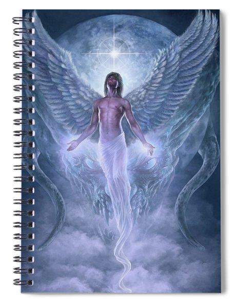 Bringer Of Light Spiral Notebook