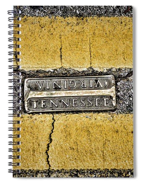 Bristol Line Spiral Notebook