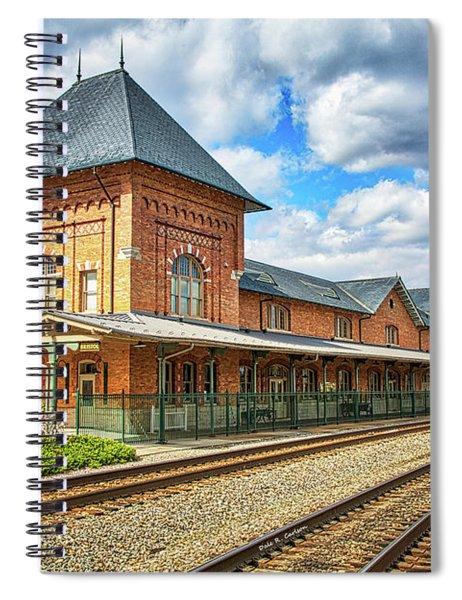 Bristol Train Station Spiral Notebook