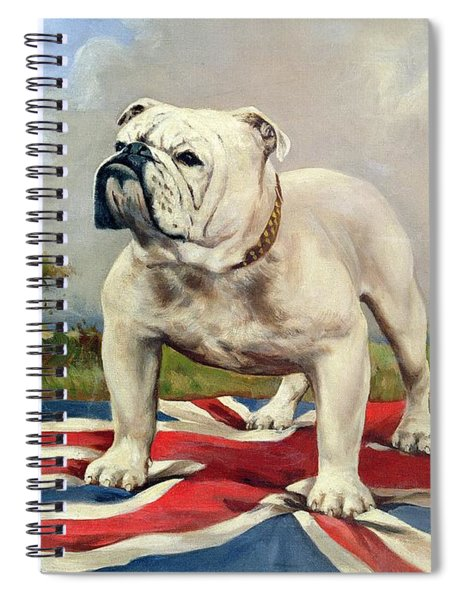 British Bulldog Spiral Notebook