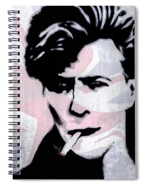 British Rock Spiral Notebook