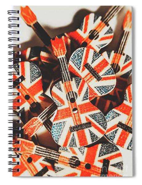 Britpop Nostalgia Spiral Notebook