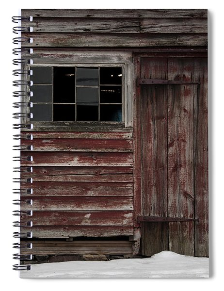 Broad Side Of A Barn Spiral Notebook