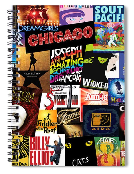 Broadway 3 Spiral Notebook