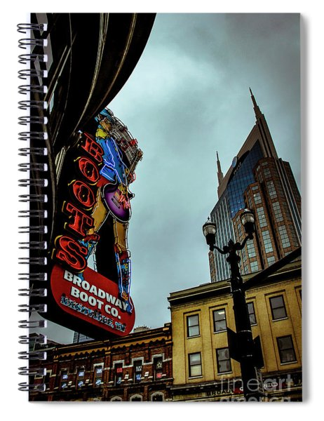 Broadway Boot Co. Spiral Notebook