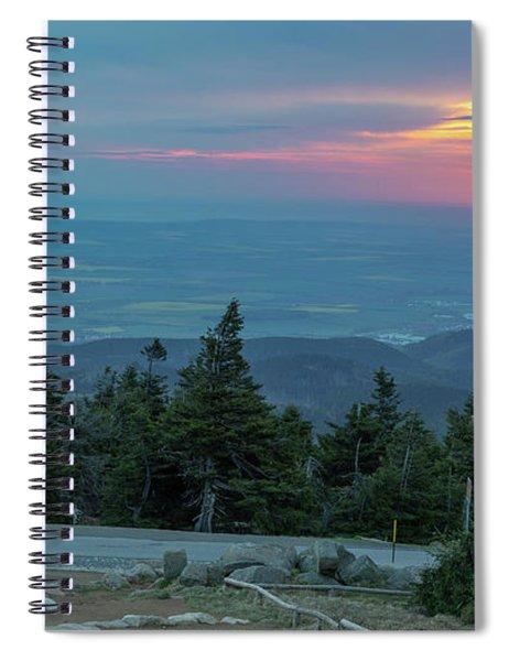 Brocken, Harz - Just After Sunrise Spiral Notebook