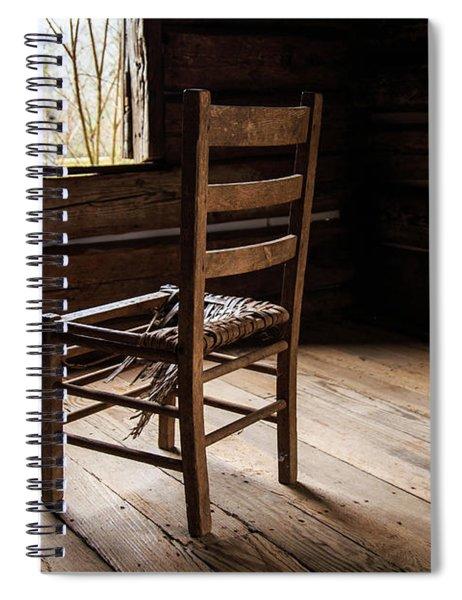 Broken Chair Spiral Notebook