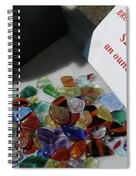 Broken Dreams For Sale Spiral Notebook