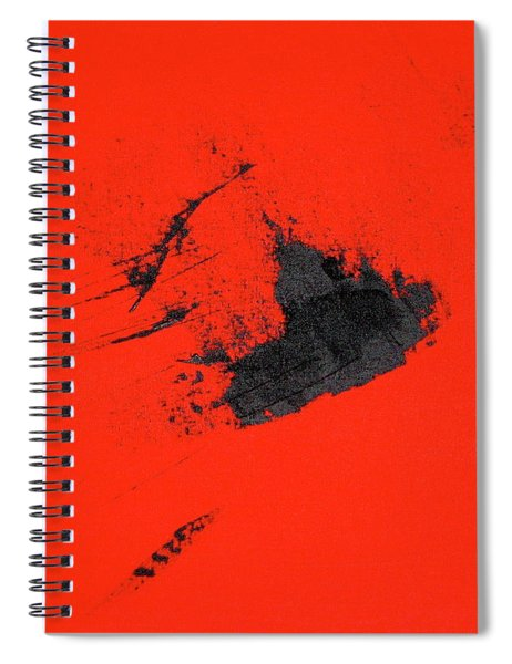 Spiral Notebook featuring the painting Broken Heart by Michael Lucarelli