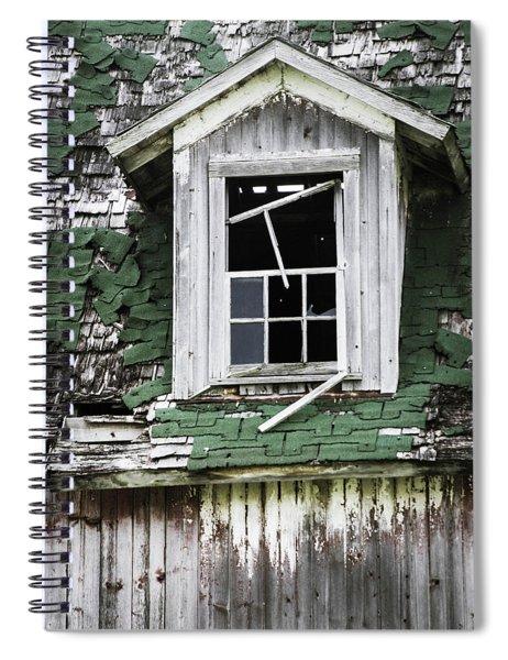 Broken Spiral Notebook