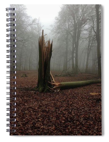 Broken Oak Spiral Notebook