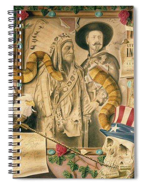 Broken Promises Spiral Notebook
