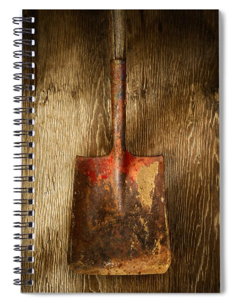 Tools On Wood 2 Spiral Notebook