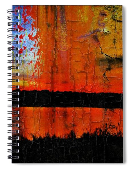 Broken View Spiral Notebook