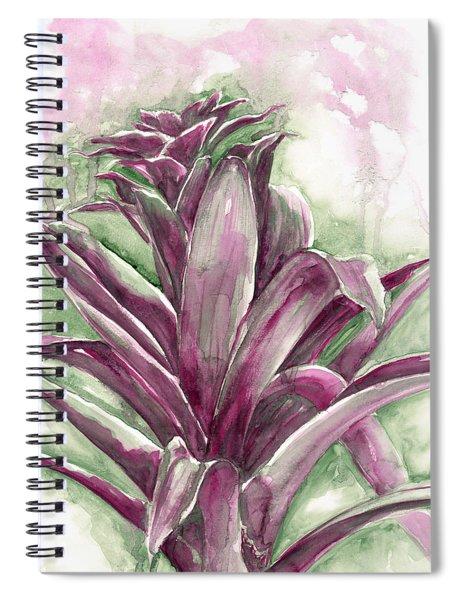 Bromeliad Spiral Notebook