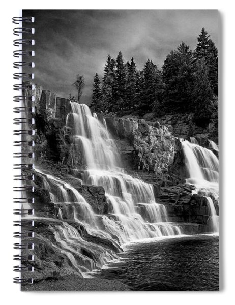 Brooding Gooseberry Falls Spiral Notebook