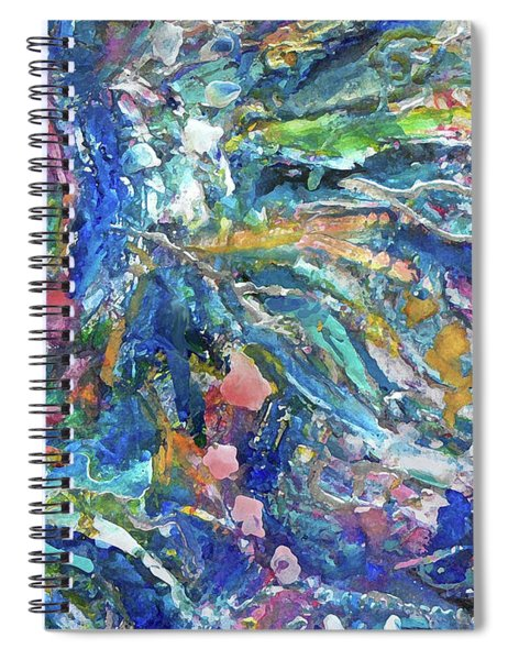 Brook Flowers Spiral Notebook