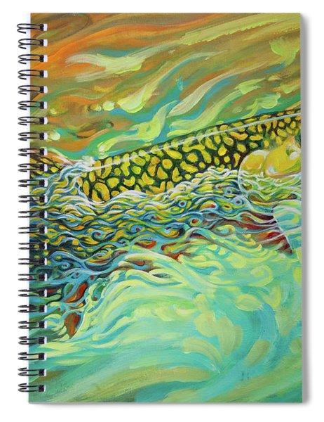 Brookie Flash Rework Spiral Notebook