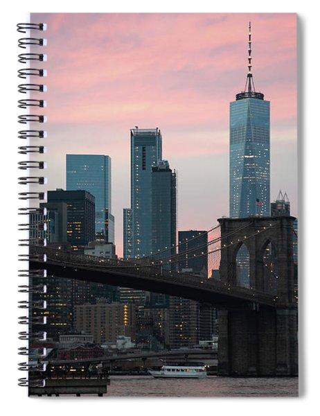 Brooklyn Bridge New York Spiral Notebook