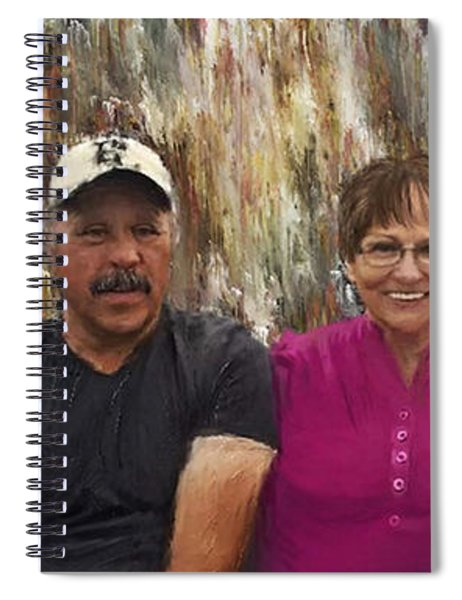 Brother Sister Portrait Spiral Notebook