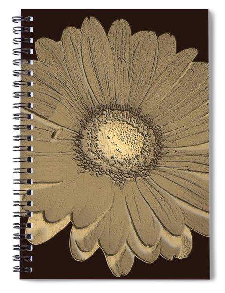 Brown Art Spiral Notebook