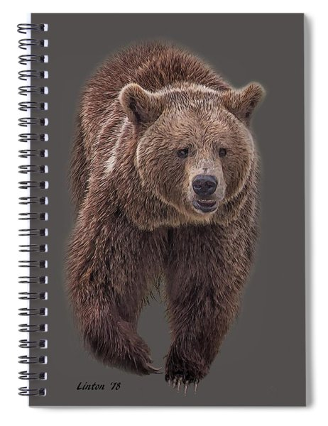 Brown Bear 8   Spiral Notebook
