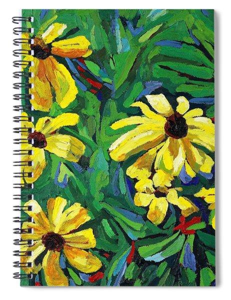Brown-eyed Susans Spiral Notebook