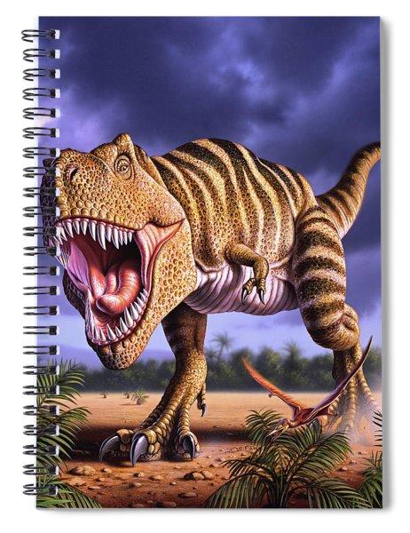 Brown Rex Spiral Notebook