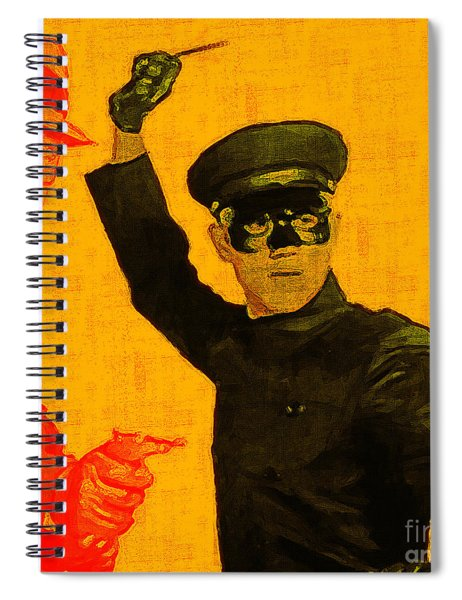 Bruce Lee Kato And The Green Hornet - Square Spiral Notebook