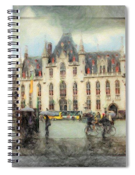 Bruges, Belgium Spiral Notebook